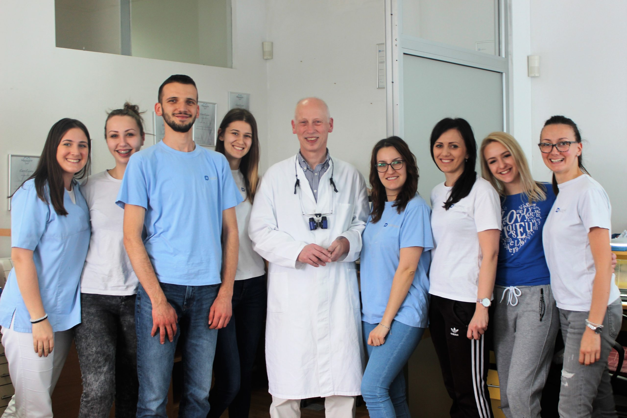 Posjeta dr Schmitza iz Njemačke – 18.2. – 8.3.2019.
